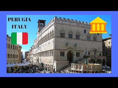 PERUGIA: ITALY'S most beautiful SQUARE, PIAZZA IV NOVEMBRE in UMBRIA
