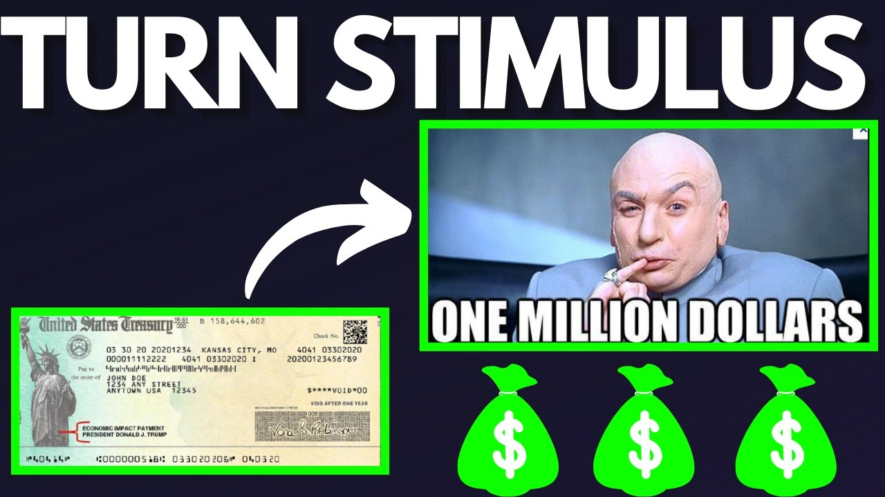 Turn Your $600 Stimulus Check Into One Million Dollars With This Stock Market Investing Strategy!