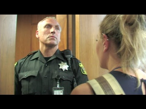 Attorneys & Press Not Allowed In Courtroom - Courtroom Doors Locked During Public Hearing