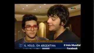 Il Volo ** Entrevista en Argentina ** TELEFE 2012