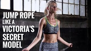 How To Jump Rope Like A Victoria's Secret Model