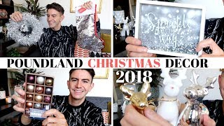 POUNDLAND HAUL NOVEMBER 2018 | AMAZING POUNDLAND CHRISTMAS DECORATIONS