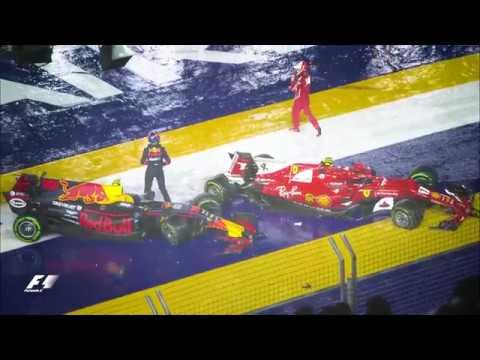 F1 Singapore Grand Prix 2017 Official Race Edit