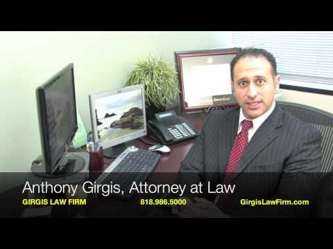 Attorney Anthony Girgis with the Girgis Law Firm, APC