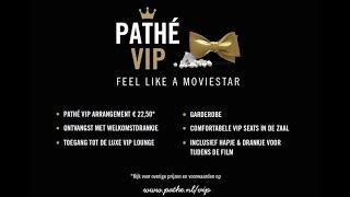 Voel je een echte VIP in de Pathé VIP lounge van Pathé Breda