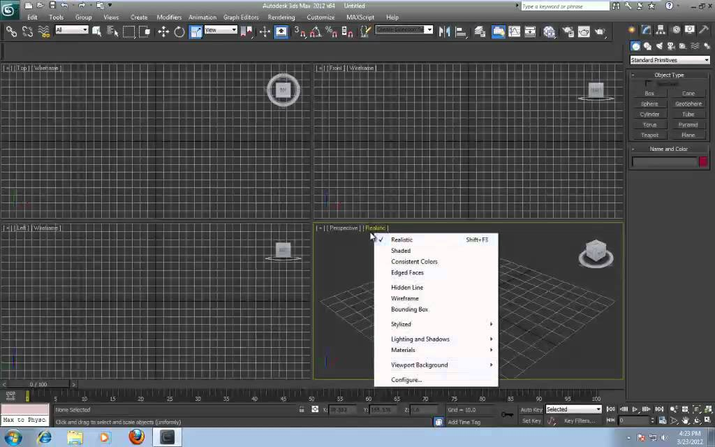 Tutorial  Customizing The 3ds Max Interface