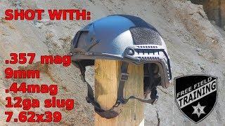 Ballistic Helmet Co: SHOOTING TEST