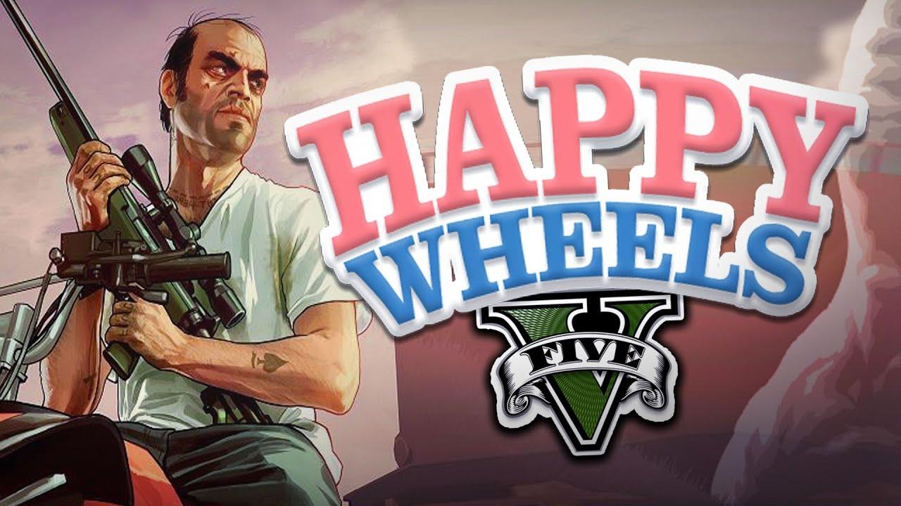 Happy Wheels Gta V Youtube