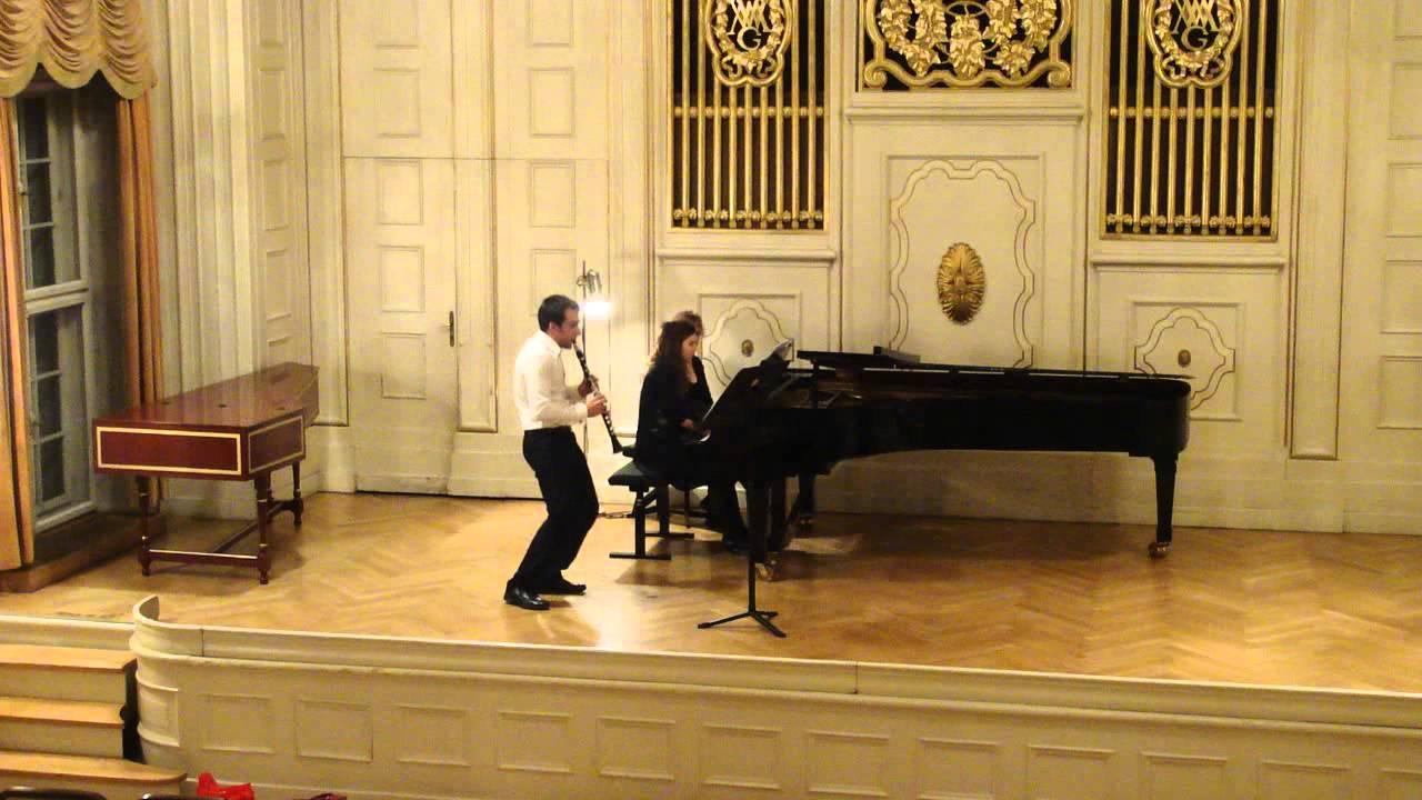 Alexander Rosenblatt Carmen Fantasy for Clarinet and Piano