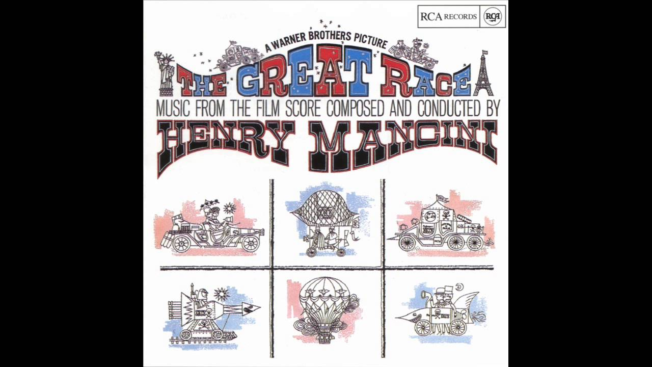 The Great Race Soundtrack Album Suite Henry Mancini Youtube