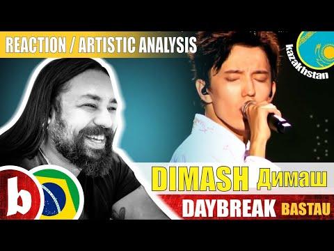 DIMASH Димаш! ! Daybreak Bastau - Reaction Reação & Artistic Analysis (SUBS)