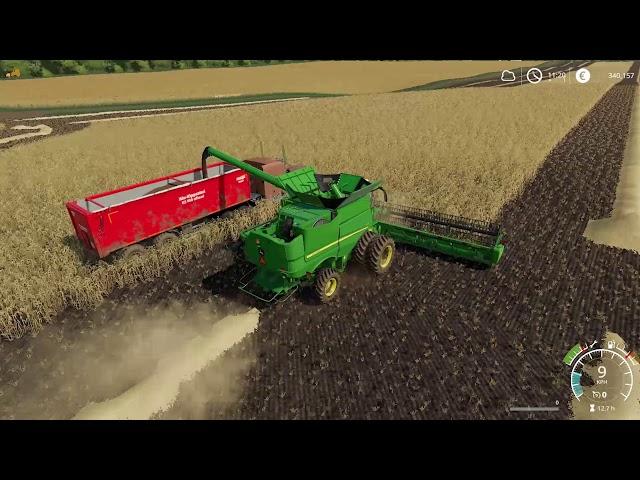 Farming Simulator 19 | Clover Creek EP 45 | Timelapse | FS19