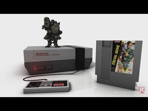 Metal Gear (NES, 1988) - Video Game Years History