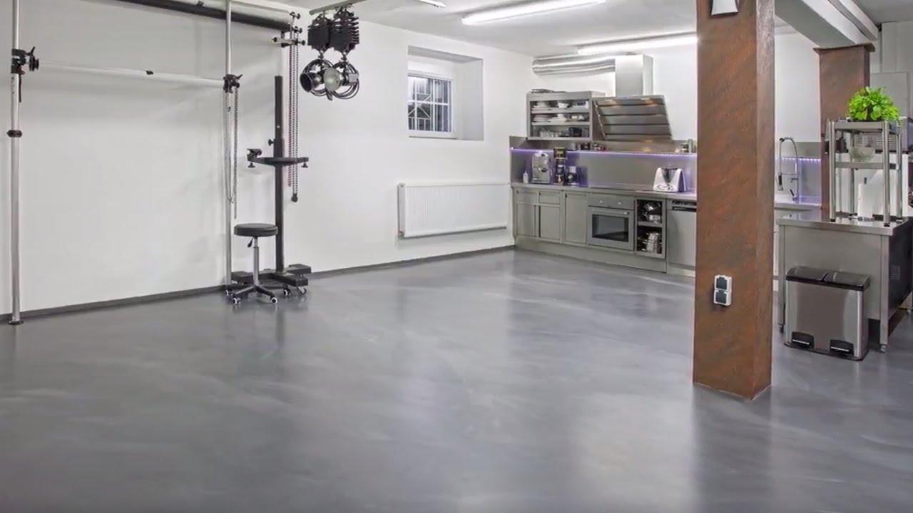 Mineral Plaster Floor Floortec 2k Mineralico Sl 470