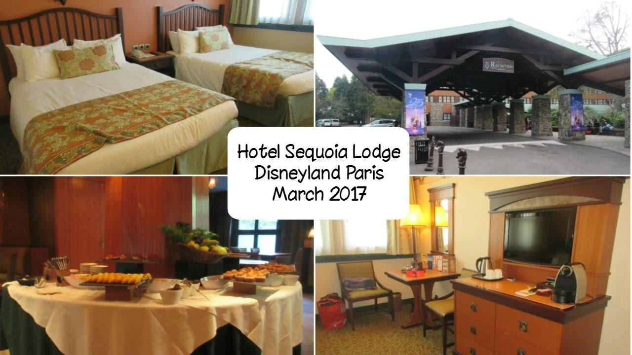Disneyland paris hotel sequoia lodge inc golden forest for Chambre de hotel france
