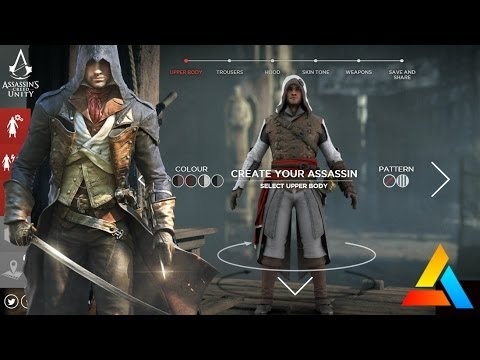Assassin S Creed Unity Customize Arno Create Your Own Assassin