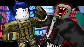 THE LAST GUEST FIGHTS THE ZOMBIES! ( A Roblox Jailbreak Roleplay Story)