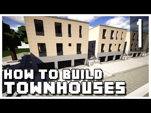 How to Build a Minecraft Townhouse - Part 1