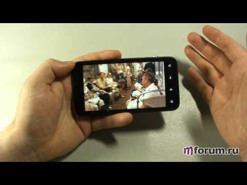 Обзор HTC EVO 3D - 3D-дисплей и его возможности