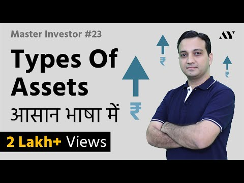 Asset & Types of Assets - Explained in Hindi | #23 Master Investor