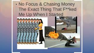 How to make an online business part 3 - money with your passion