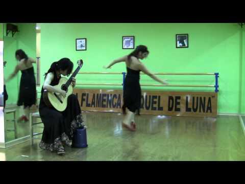 Xuefei Yang with Spanish flamenco dancer Raquel de Luna - Asturias
