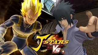 J-Stars Victory Vs+ (PS4) - Vegeta vs Sasuke Gameplay [1080p] TRUE-HD QUALITY