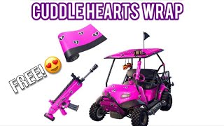 How to Get the *NEW* Cuddle Hearts Wrap! In fortnite battle royale