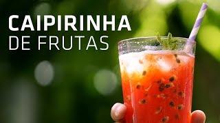 Drink de Maracujá e Melancia | Caipirinha | Especial Dia da Cachaça | Gourmet a dois