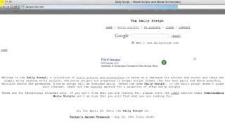 My RØDE Reel - Сценарий(Второе видео из серии видеоуроков от My RØDE Reel посвящено написанию сценария. Как говорится в видео, сценарий..., 2014-04-16T11:52:14.000Z)