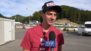 Stefan Horngacher przed startem Polaków w Rumunii [21.09.2018]