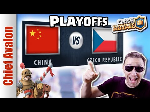 MGL WORLDS TOP 8 PLAYOFFS: CHINA vs CZEK REPUBLIC/SLOVAKIA - Clash Royale eSports