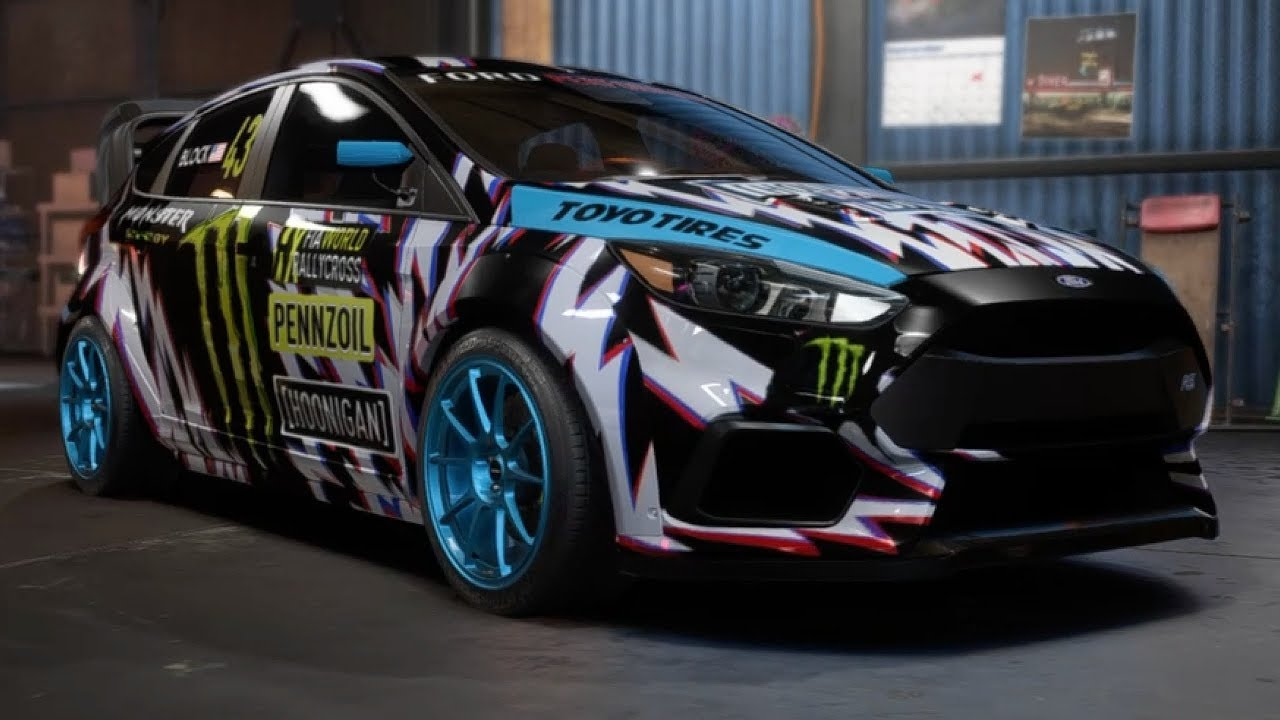 making ken block 39 s ford focus rs rx replica need for speed payback youtube. Black Bedroom Furniture Sets. Home Design Ideas