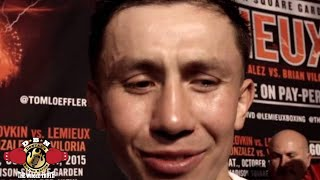 WHAT DOES GOLOVKIN THINK ABOUT FACING JERMALL CHARLO NEXT TO GET 3RD CANELO FIGHT?