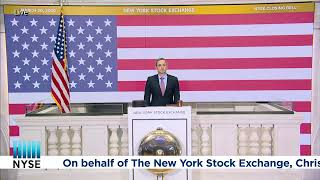 The New York Stock Exchange Rings The Closing Bell®