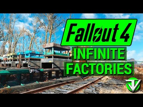 FALLOUT 4: Build INFINITE FACTORIES with Manufacturing Extended! (Best Contraptions DLC Mod!)