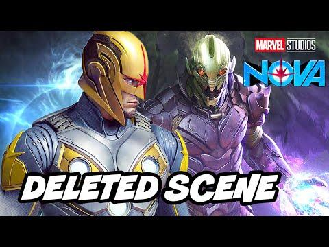 Avengers Endgame Nova Deleted Scene - Nova Movie News Breakdown