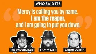 Which WWE Superstar/Wrestler Said This? (WWE Quiz)
