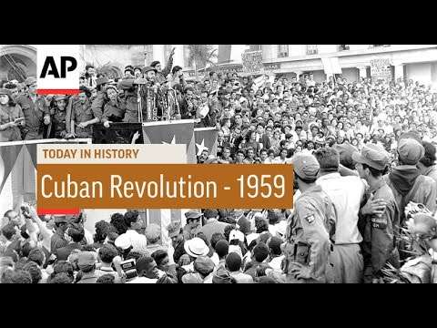 Cuban Revolution - 1959 | Today in History | 1 Jan 17