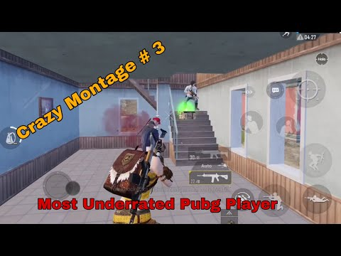 Crazy Montage # 3   Most Underrated Pubg Player   Afghan Pubg Mobile