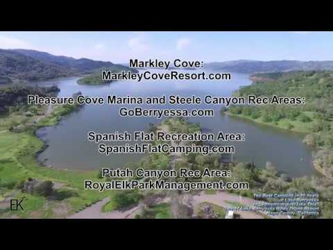 Thumbnail: Best Camping in 10 Years at Lake Berryessa - The Lake Berryessa News Drone Report 3-29-17