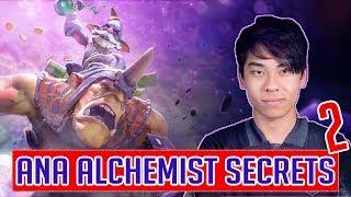 ANA Alchemist perspective - 100% Winrate in TI9 with ALCHEMIST - Insane farming skill - part 2