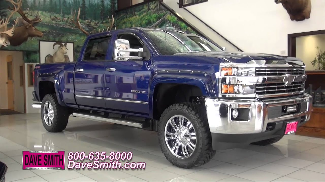Custom 2015 Chevy Silverado HD 2500 Duramax at Dave Smith ...