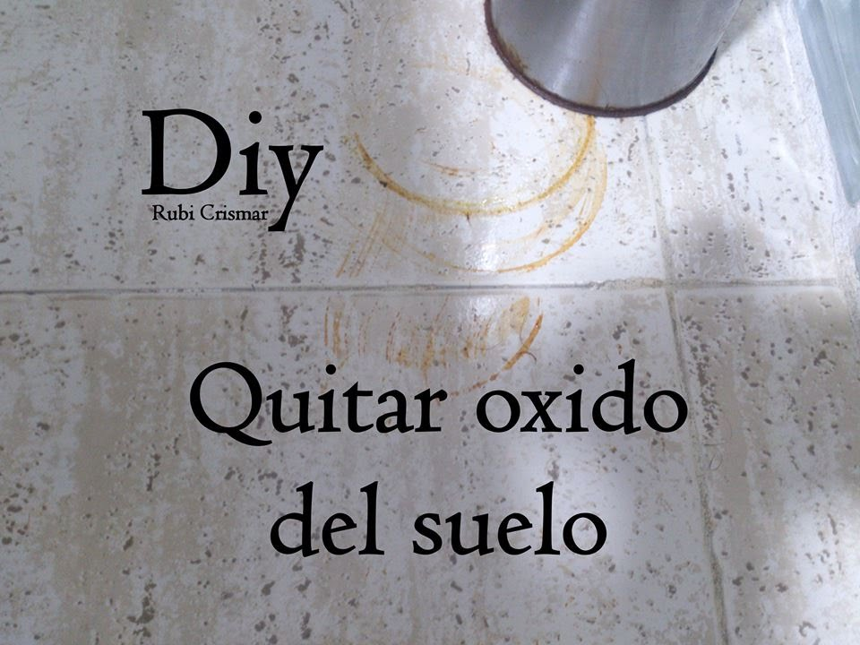 Como quitar oxido del suelo youtube - Como quitar el oxido ...