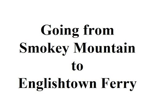 The Cabot Trail Part 12 from Smokey to Englishtown Cable Ferry