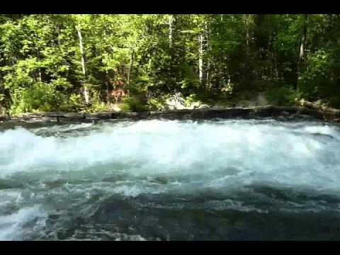 Buttermilk Falls. Haliburton. Ontario. Canada - Aug 15 2010