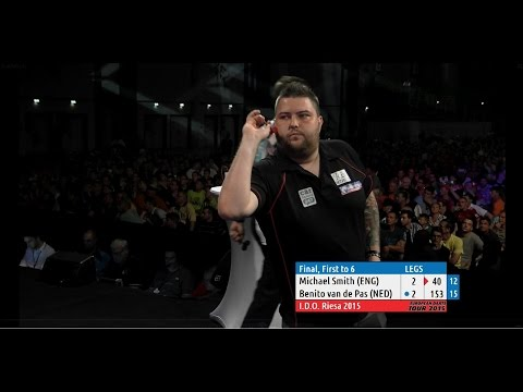 2015 International Darts Open Final | Michael Smith v Benito van de Pas (HD)