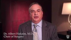 Dr. Albert Hakaim: Treatment of Varicose and Spider Veins  - Mayo Clinic