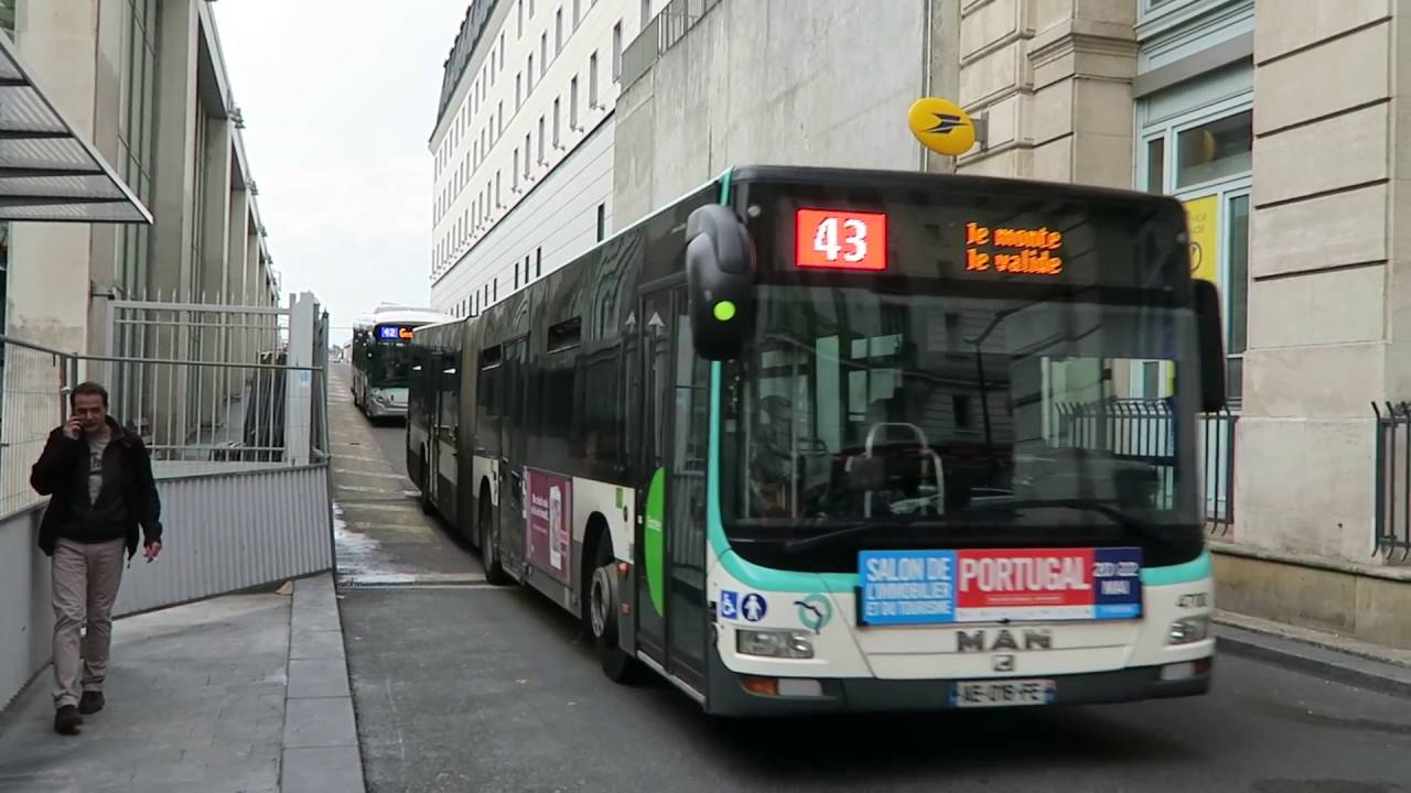 paris buses at gare du nord 26 may 2016 youtube. Black Bedroom Furniture Sets. Home Design Ideas