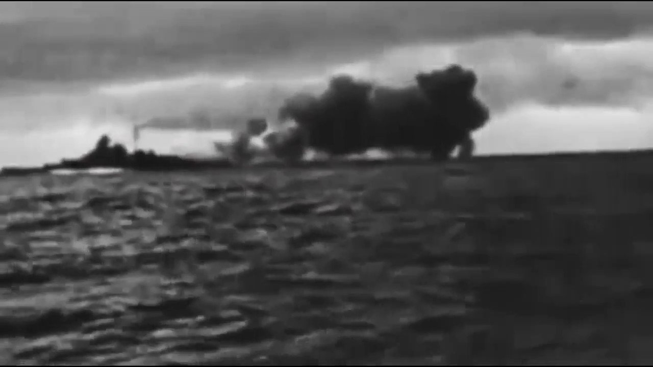Learning History Bismarck Vs Hood The Real Footage Youtube
